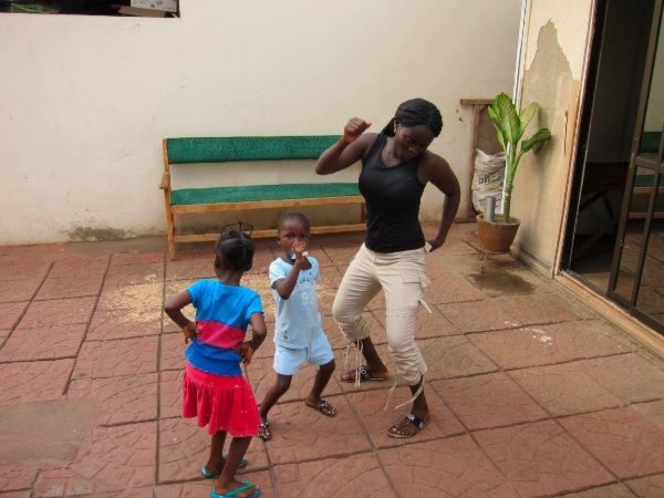 dancing in accra, ghana