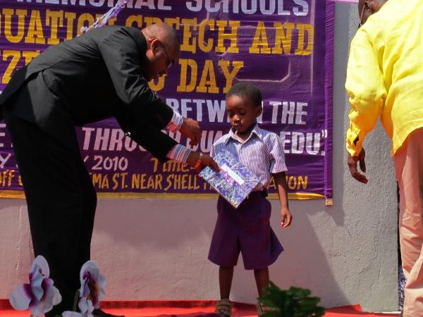 Primary School Kid in Accra, Ghana