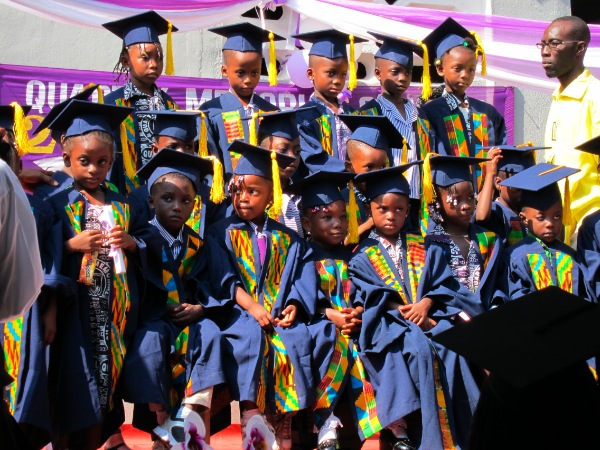 Primary school kids graduate in Accra