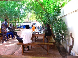 sleeping camel hostel bamako Mali