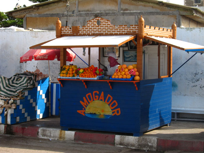 fresh orange juice in morocco