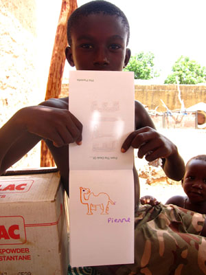 Post image for Teaching a Malian Village of 25,000 People how to Draw Camels